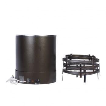 Коптильня электрическая ЭЛВИН ЭКУ , 3 яруса, сталь, 800 Вт - фото 10257