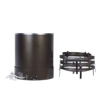 Коптильня электрическая ЭЛВИН Комби , 3 яруса, сталь, 800 Вт - фото 10263