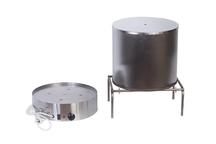 Коптильня электрическая ЭЛВИН НЕРЖ , 3 яруса, нерж.сталь, 800 Вт. - фото 10272