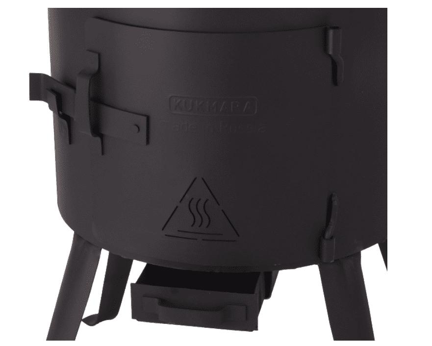 Печь под казан 8 литров Кукмара, d-322 мм. фото
