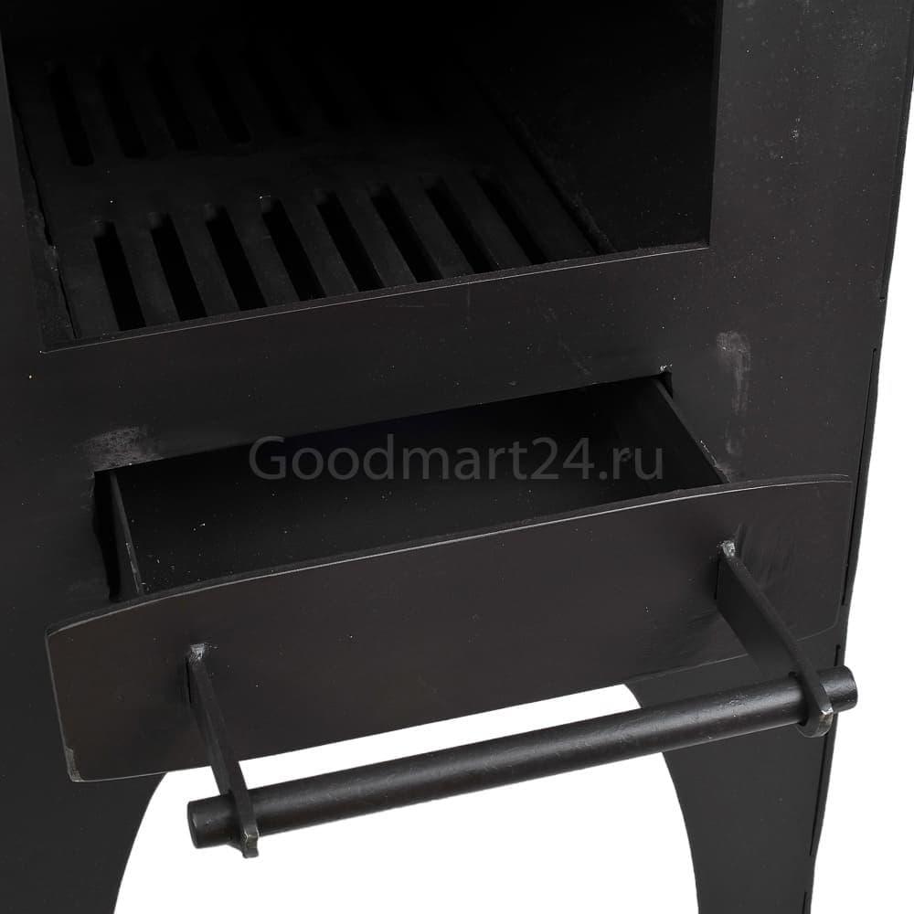 Печь для казана Гурман, под казан до 16 литров, термометр, сталь - 4 мм. - фото 11111