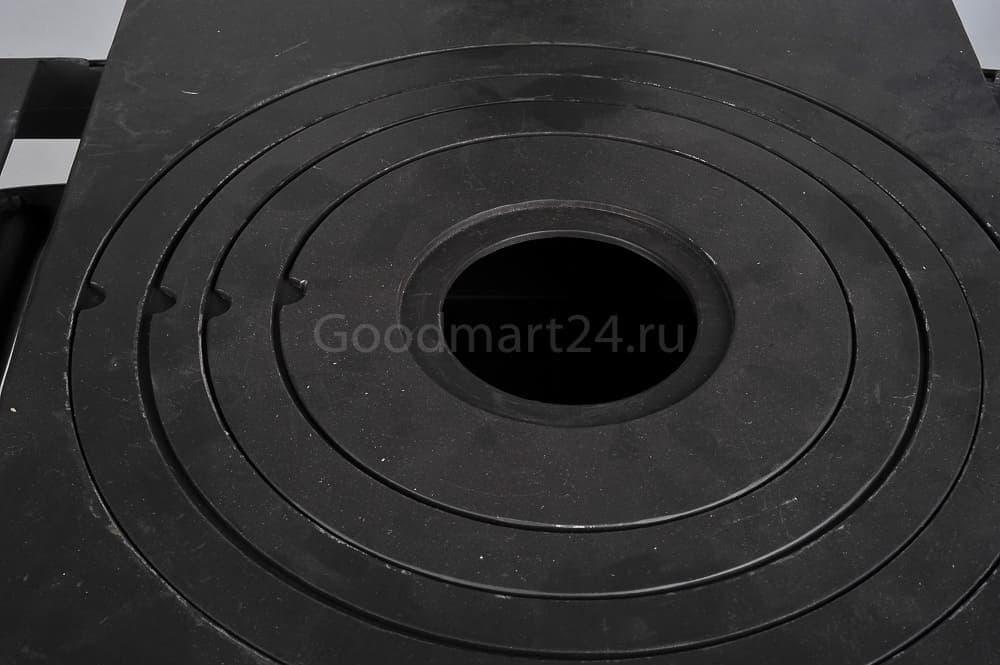 Печь для казана Гурман, под казан до 16 литров, термометр, сталь - 4 мм. - фото 11115