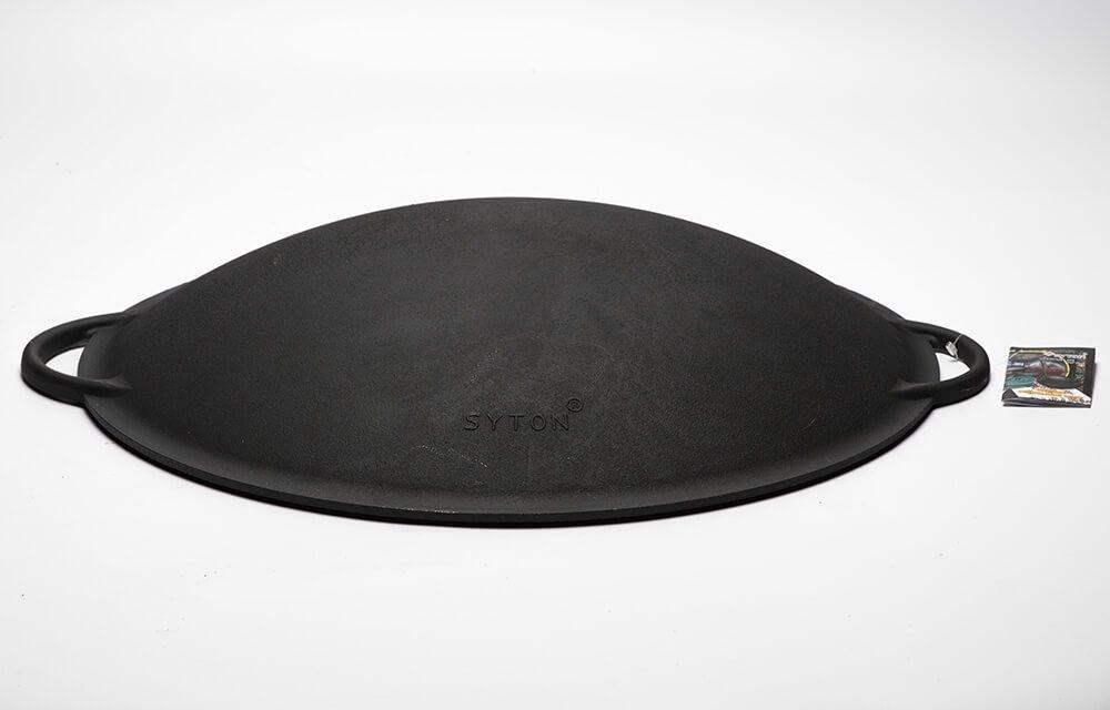 Садж-сковорода, крышка, чугун 400 мм. Ситон - фото 11619