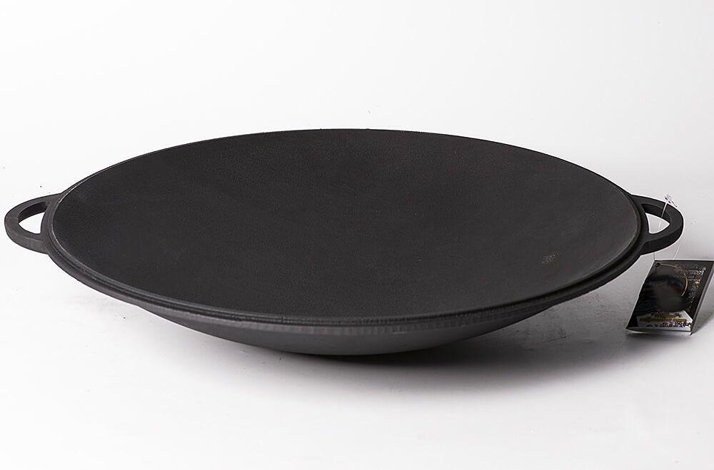 Садж-сковорода, крышка, чугун 400 мм. Ситон - фото 11620
