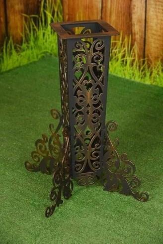Шампурница кованая Ника на 8 шампуров - фото 11784