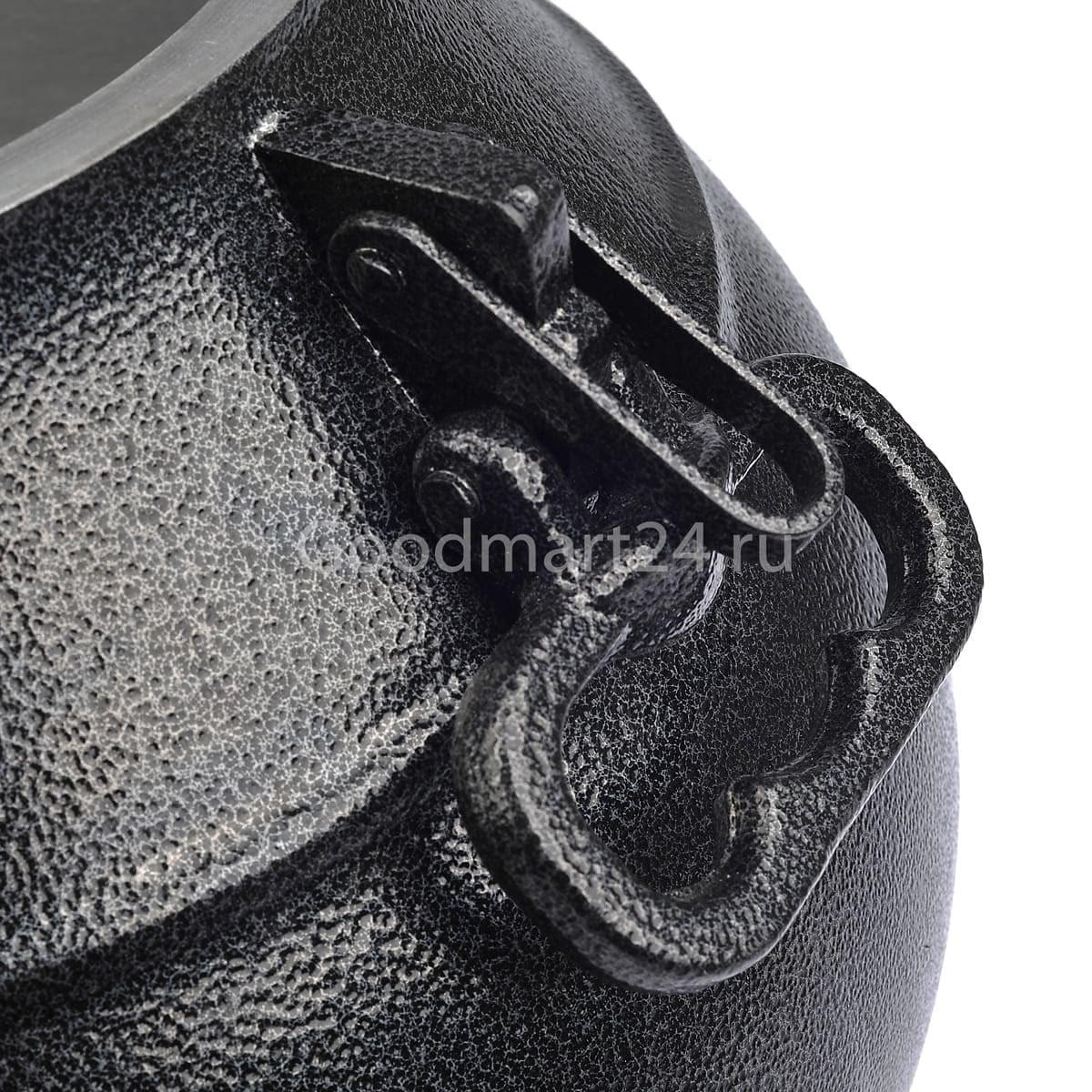 Афганский казан-скороварка 15 литров черный, алюминий - фото 12337