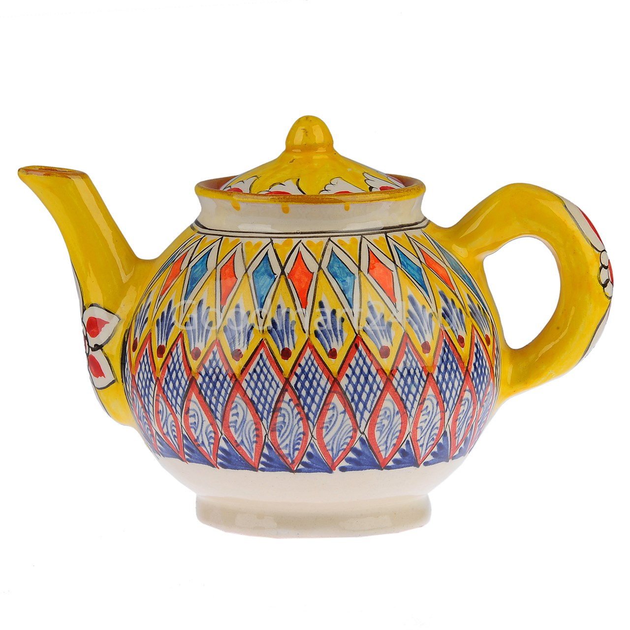 Чайник заварочный 1 литр желтый мехроб с доставкой