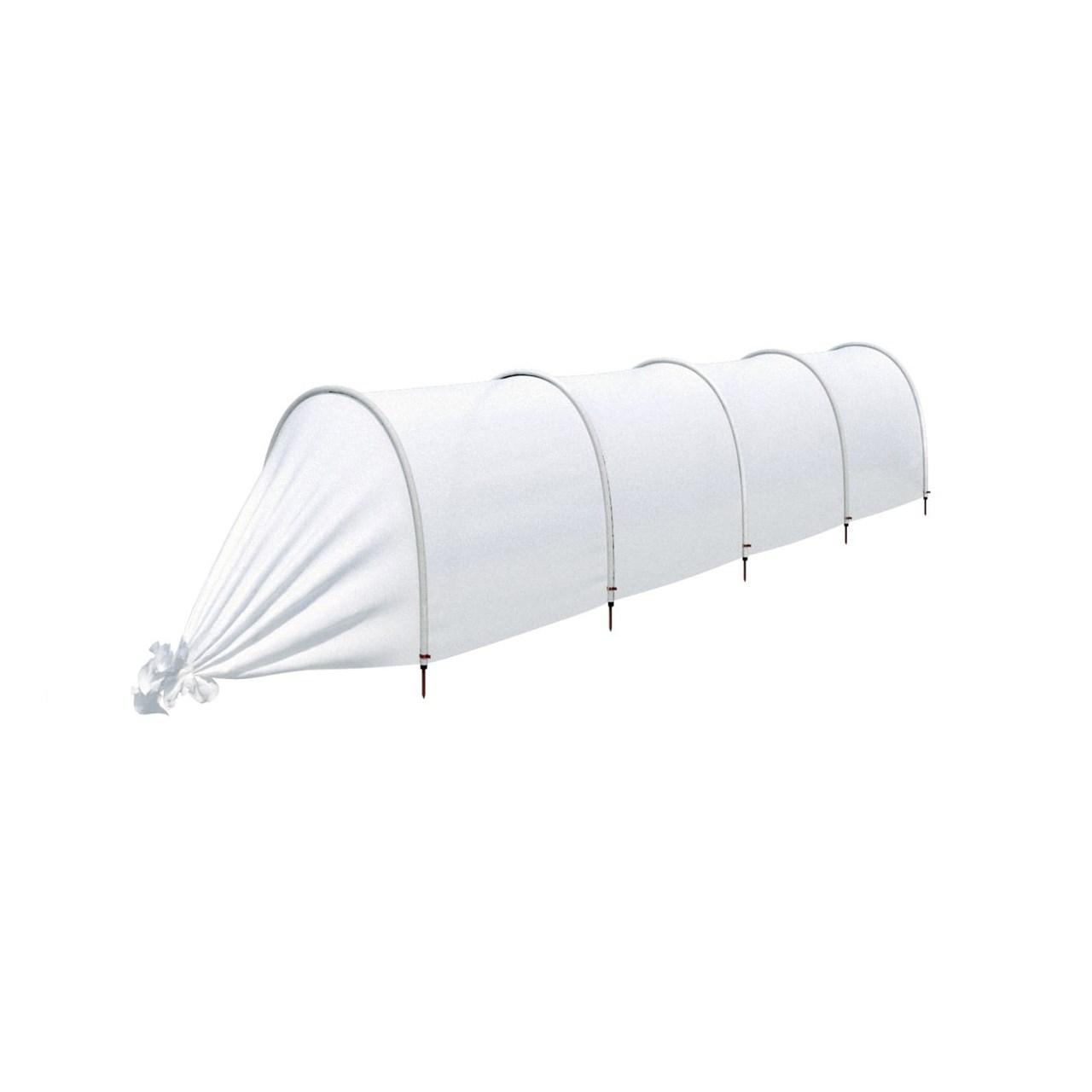 Парник агроном с укрывным материалом 4 метра 4 секции белый фото