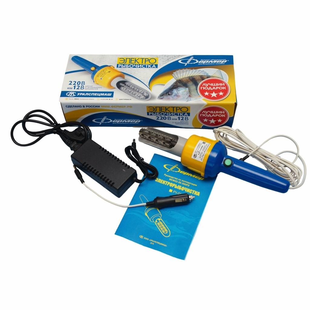 Рыбочистка электрическая РЧ-1 фото