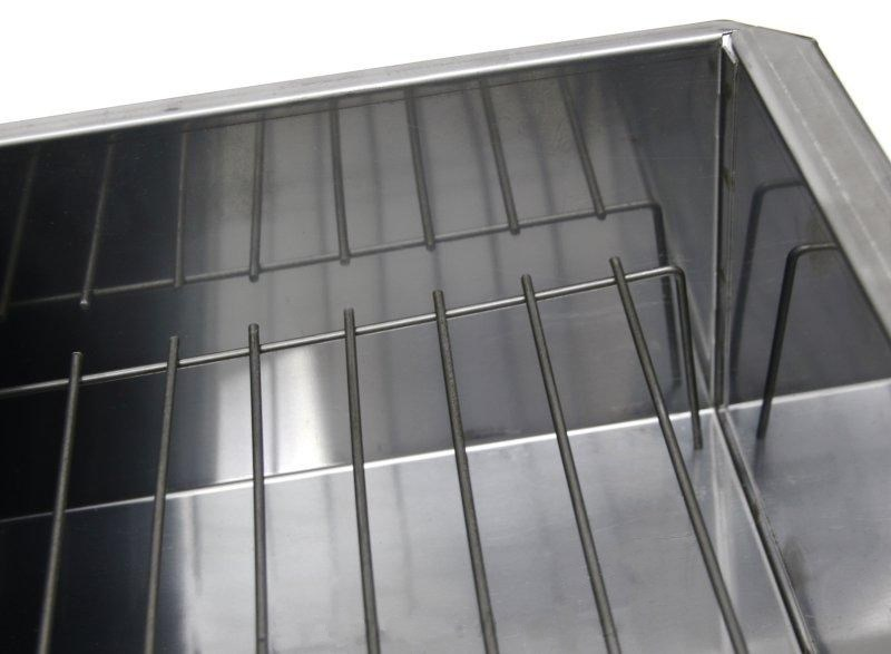 Коптильня нержавеющая сталь 0,8мм. 600х320х250 КЕДР