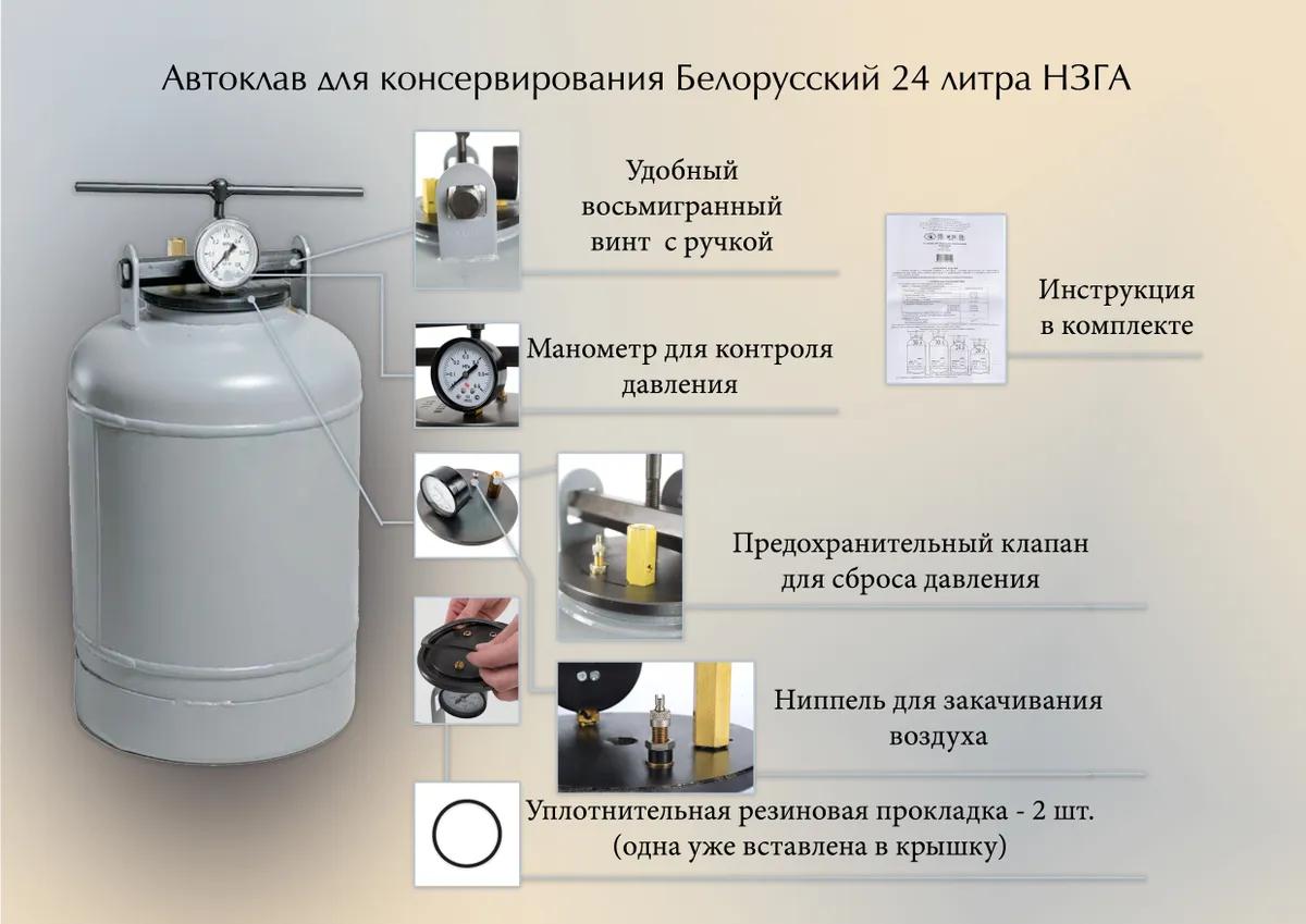 Автоклав НЗГА 24 л