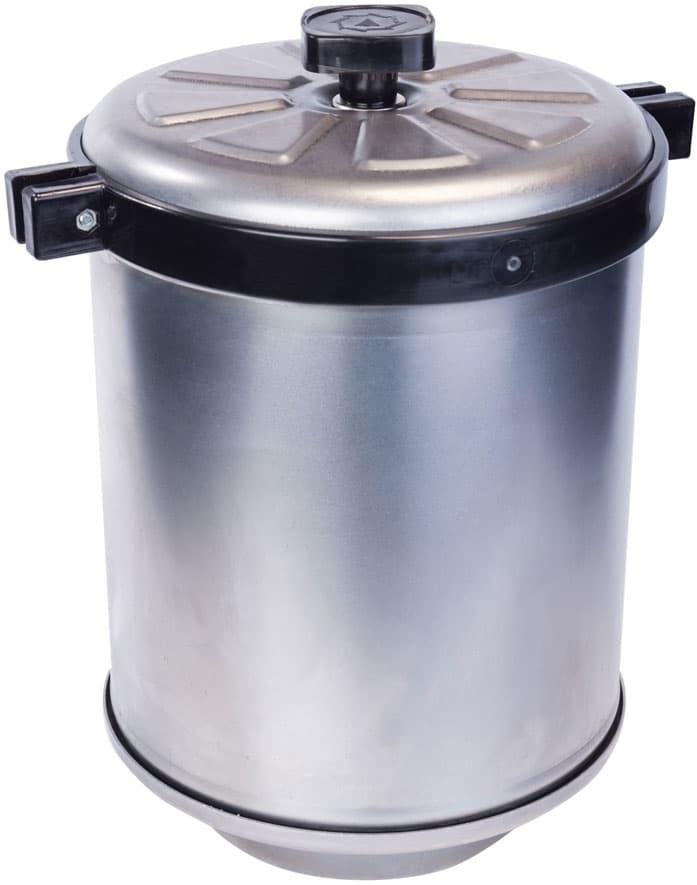 Коптильня цилиндрическая для дома Сельмаш (Сатурн) - фото 5047