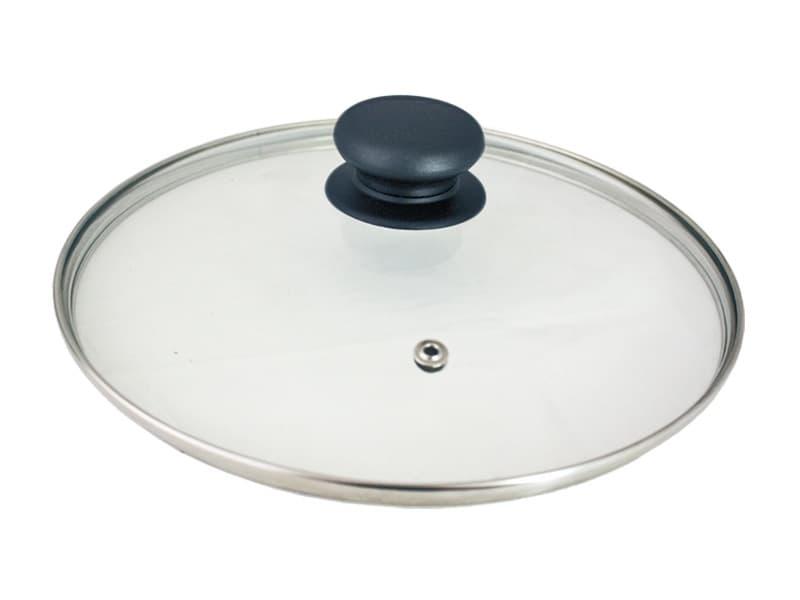 Крышка стеклянная пароотводная 240 мм. Tima