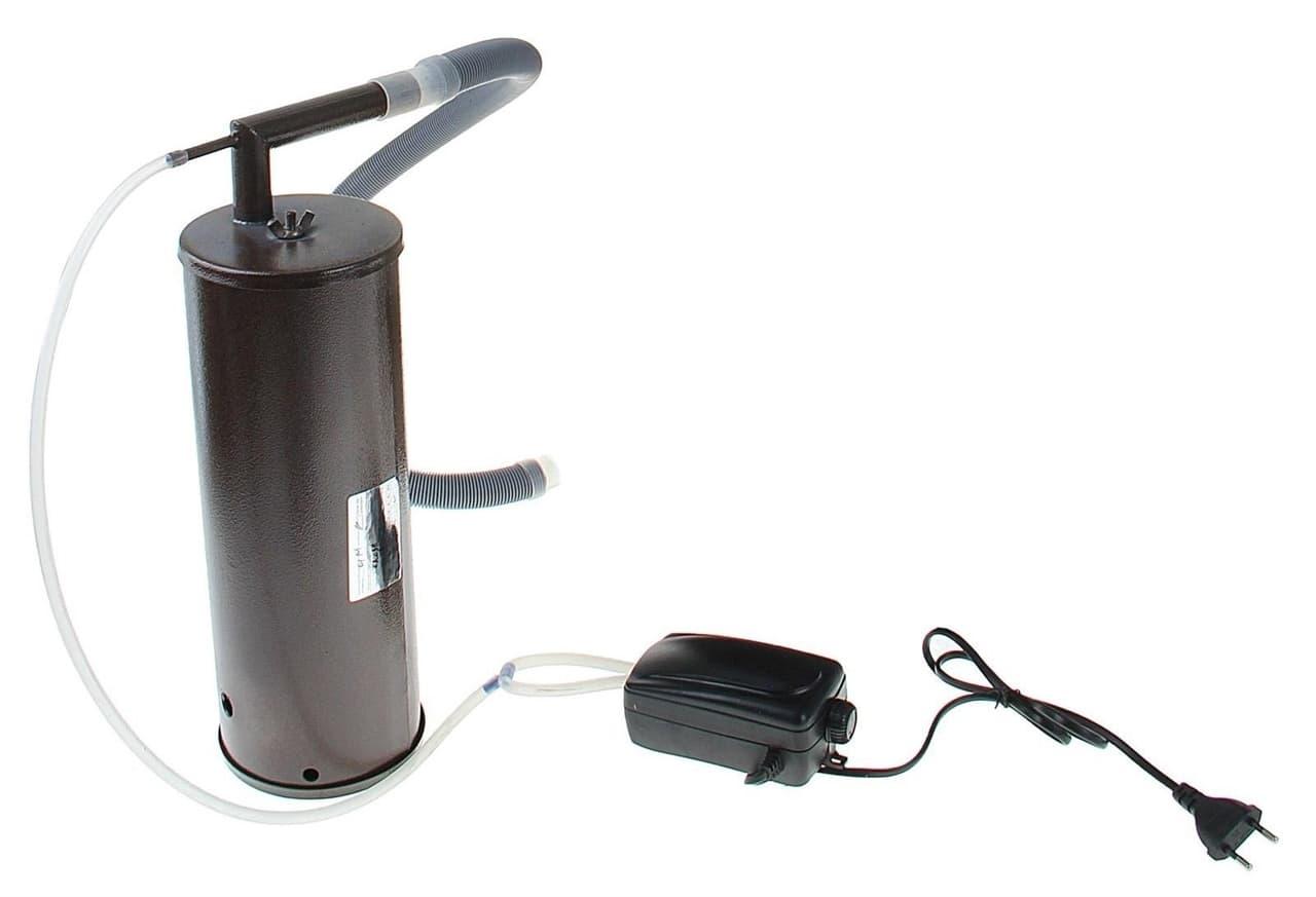 Коптильня Дым Дымыч 01М холодного копчения с емкостью 32 л. УЗБИ - фото 5300
