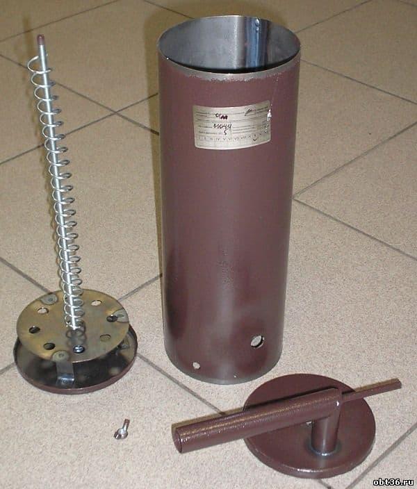 Коптильня Дым Дымыч 01М холодного копчения с емкостью 32 л. УЗБИ - фото 5302