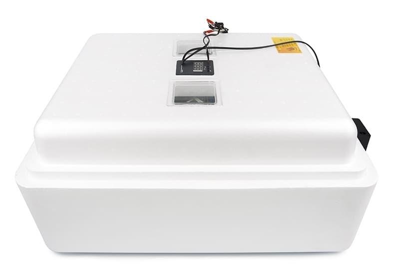 Инкубатор Несушка 104 яйца 220/12 В, автомат. пов., цифр. терм.,гигрометр, арт.64г - фото 5513