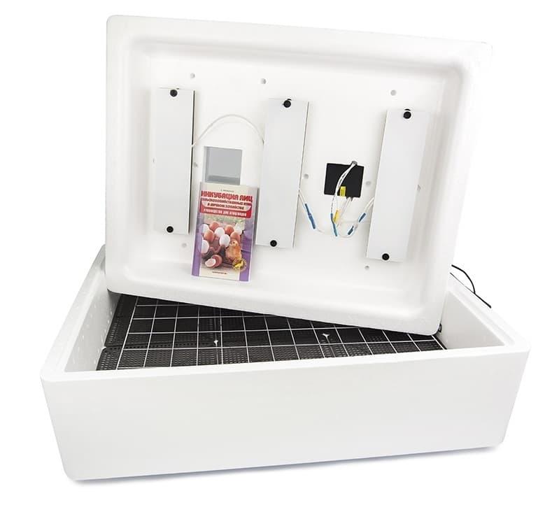 Инкубатор Несушка 104 яйца 220/12 В, автомат. пов., цифр. терм.,гигрометр, арт.64г - фото 5514