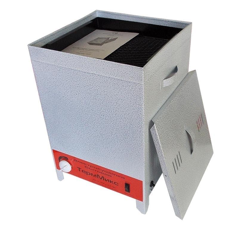 Электросушилка металлическая для фруктов и овощей 4 лотка ТермМикс - фото 5548