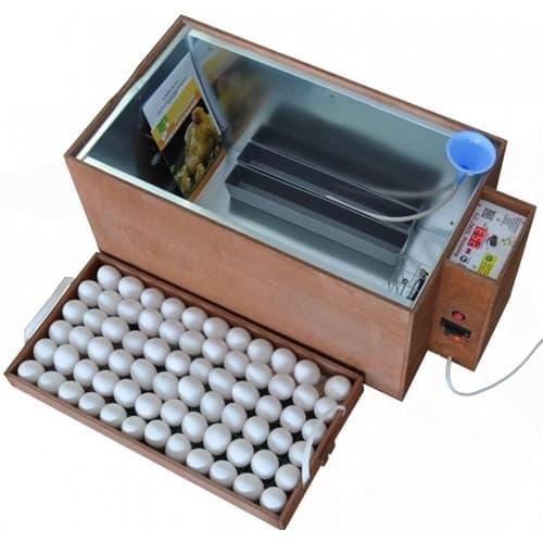 Инкубатор БЛИЦ 72 аналоговый, 220/12В, автомат.поворот, рег. Влажности
