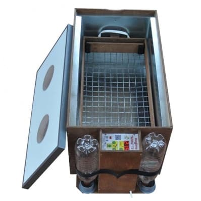 Инкубатор БЛИЦ 72 цифровой, 220/12В, автомат.поворот, рег. влажности - фото 5618