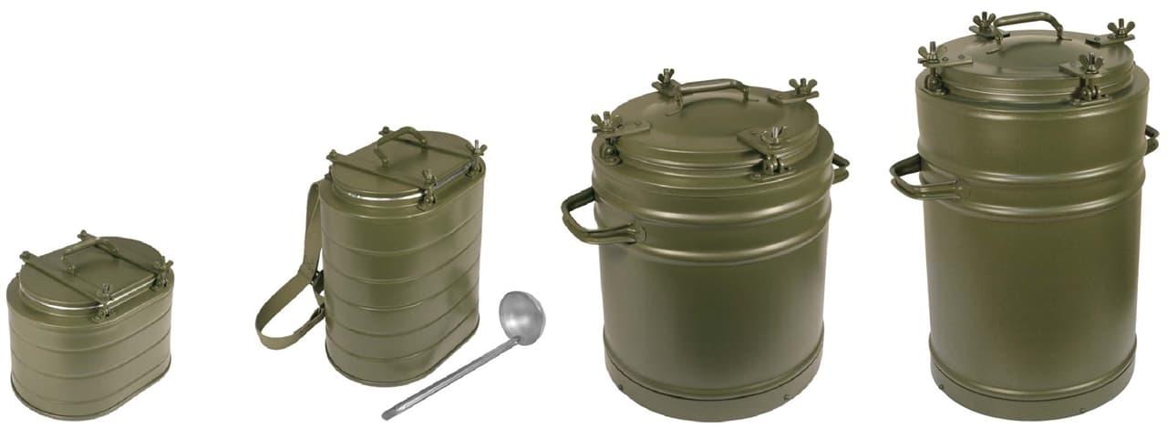 армейский термос 25 литров с колбой из нержавеющей стали