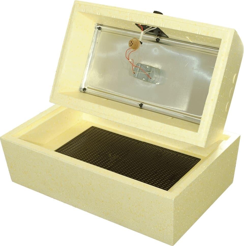 Инкубатор Золушка 45 яиц, ручной переворот,220/12В, цифровой терм.