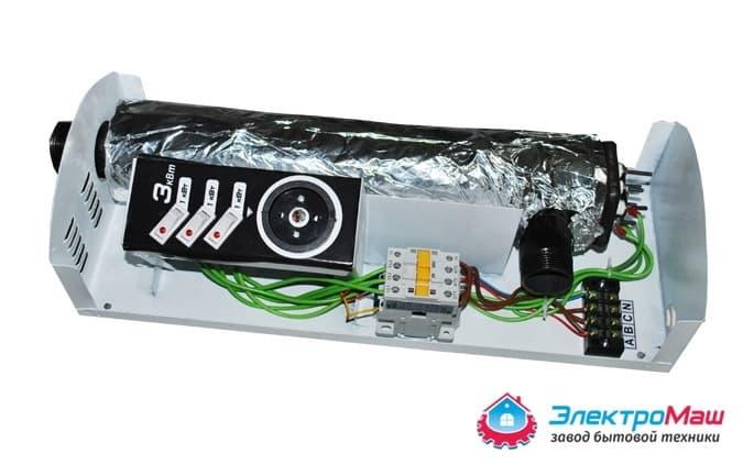 Электрокотел отопления Электромаш ЭВПМ - 3 кВТ фото