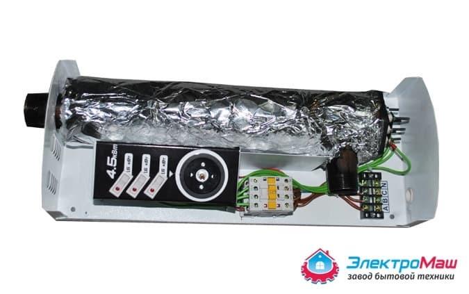 Электрокотел отопления Электромаш ЭВПМ - 4,5 кВТ - фото 6281