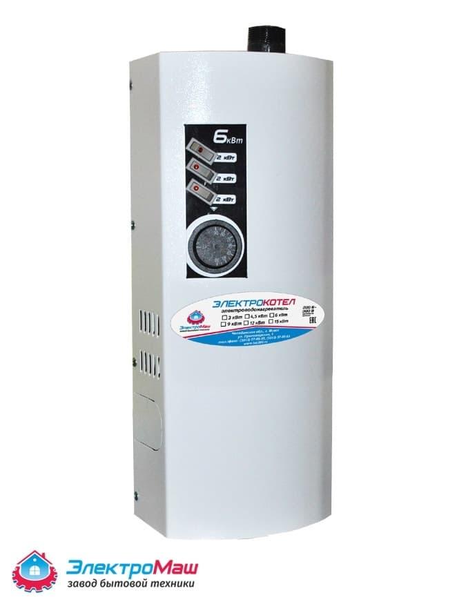 Электрокотел отопления Электромаш ЭВПМ - 6 кВТ фото