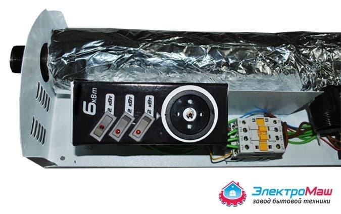 Электрокотел отопления Электромаш ЭВПМ - 6 кВТ купить