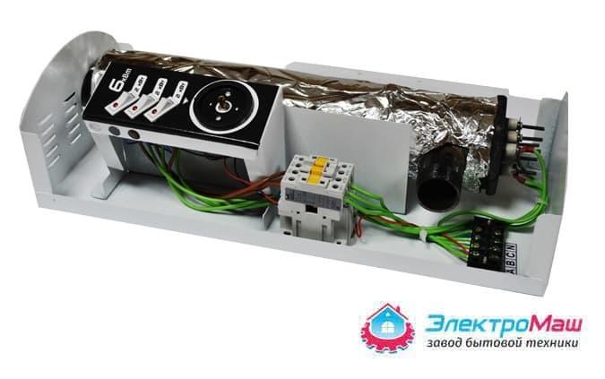Электрокотел отопления Электромаш ЭВПМ - 6 кВТ отзывы