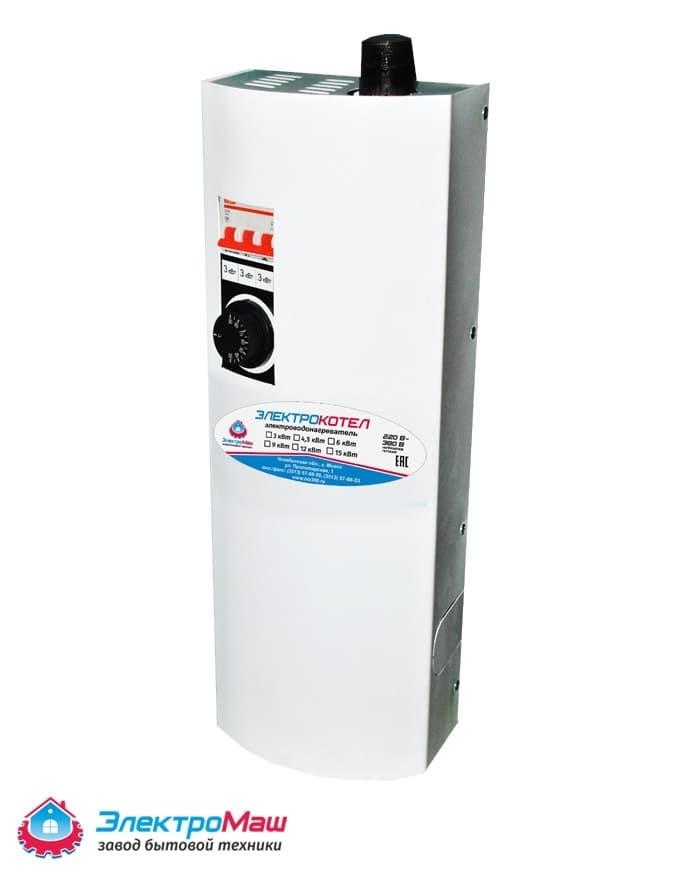 Электрокотел отопления Электромаш ЭВПМ - 9 кВТ фото