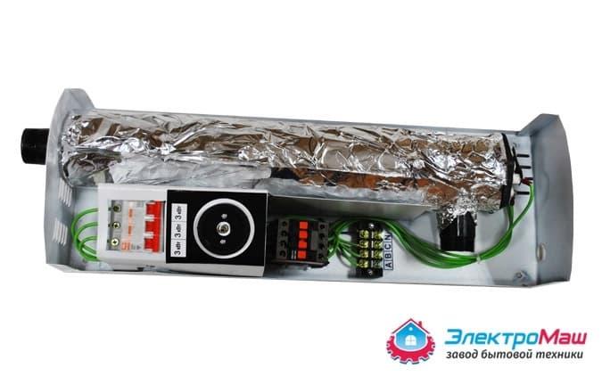 Электрокотел отопления Электромаш ЭВПМ - 9 кВТ отзывы