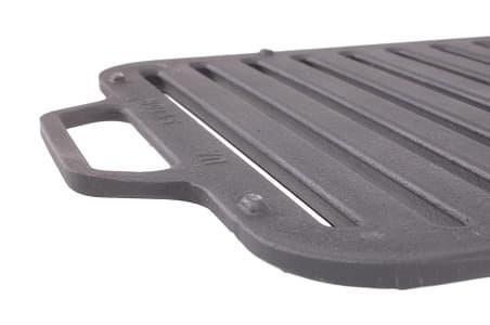 Решетка чугунная гриль для мангала 360х260х11 мм (Ситон) арт. РГ3626 - фото 6488