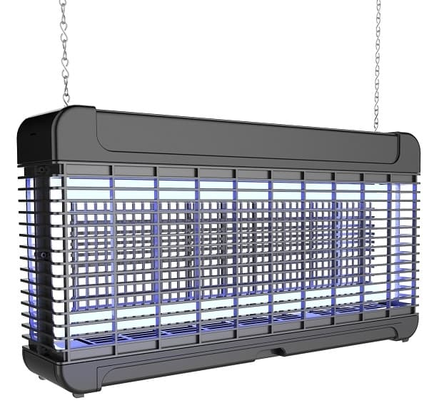 Сверхмощный уничтожитель летающих насекомых со светодиодными лампами ЭкоСнайпер GB-30L - фото 7663