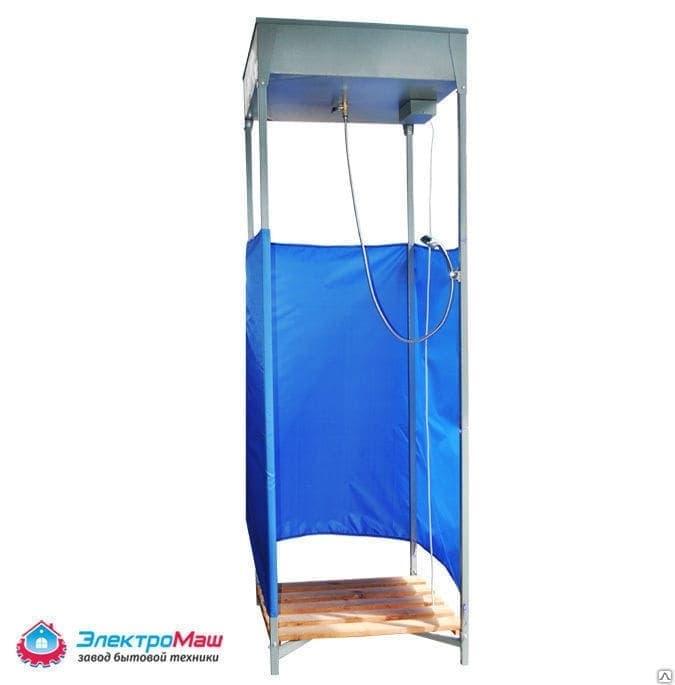 Дачный душ с подогревом со шлангом Электромаш - фото 7708