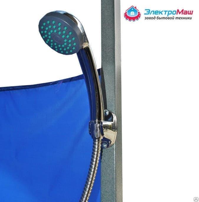 Дачный душ с подогревом со шлангом Электромаш - фото 7711