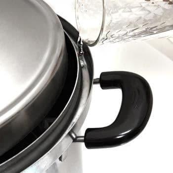 Коптильня Hanhi 20 л. из нержавеющей стали - фото 8625