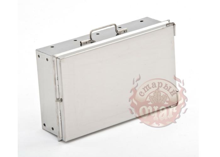 Мангал чемодан Старый Очаг нержавеющая сталь 500х300х500мм. 2 мм. с решеткой гриль - фото 8650