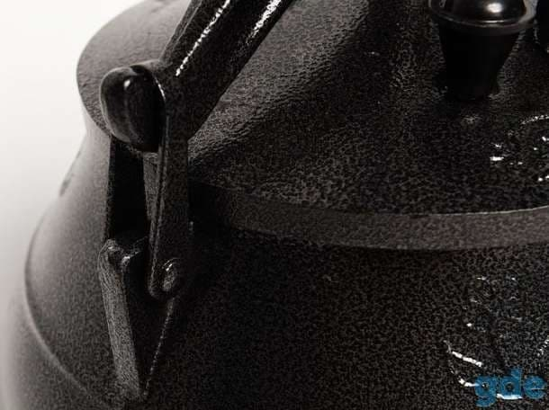 Афганский казан-скороварка 10 литров черный, алюминий Rashko Baba ltd - фото 8915
