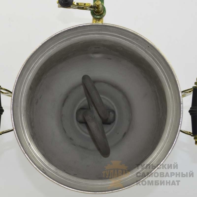 Самовар Рябина на зелёном 3 литра электр. банка ТСК - фото 9183