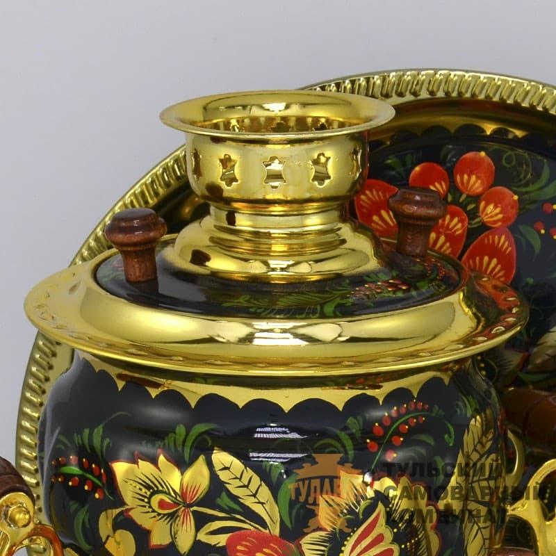 Набор Золотая Хохлома 3 л. желудь, электрический, 4 предмета,  ТСК - фото 9197