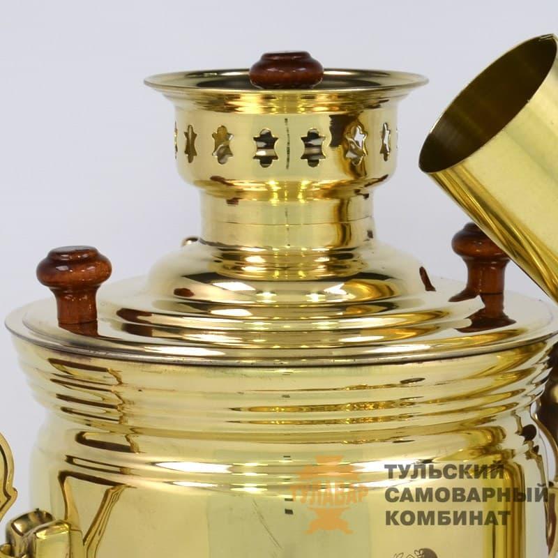 Набор Традиционный жаровой 5 л. банка, латунь, 5 предметов, ТСК - фото 9237