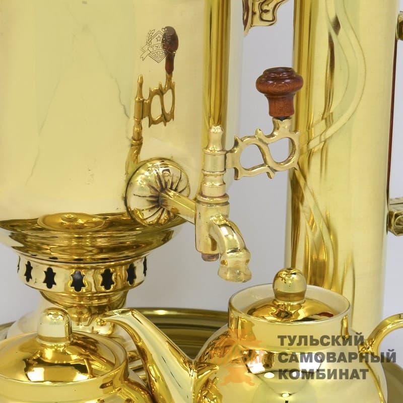 Набор Традиционный жаровой 5 л. банка, латунь, 5 предметов, ТСК - фото 9239
