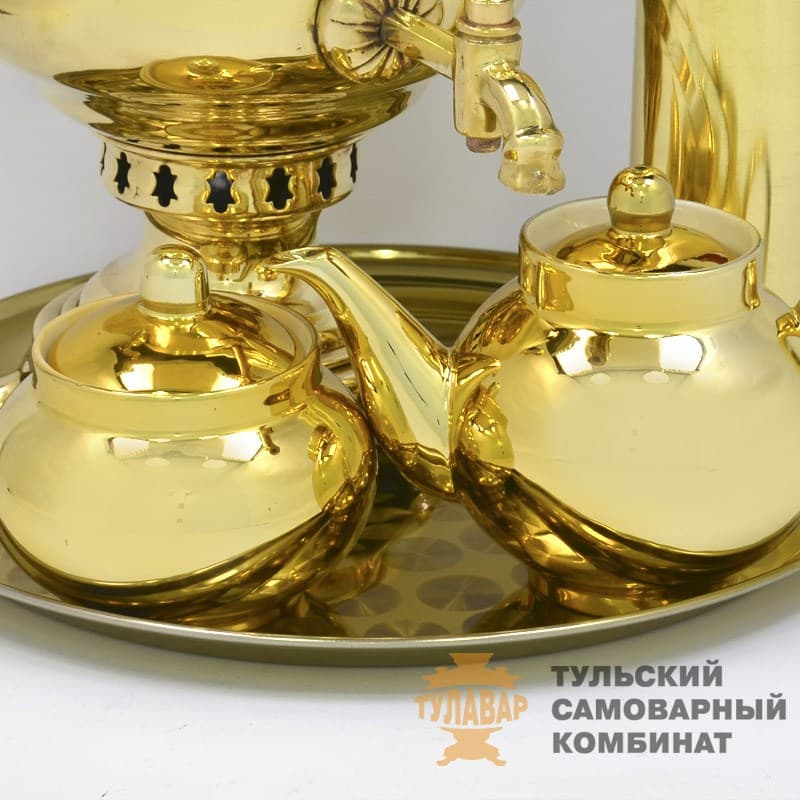 Набор Традиционный жаровой 5 л. банка, латунь, 5 предметов, ТСК - фото 9240
