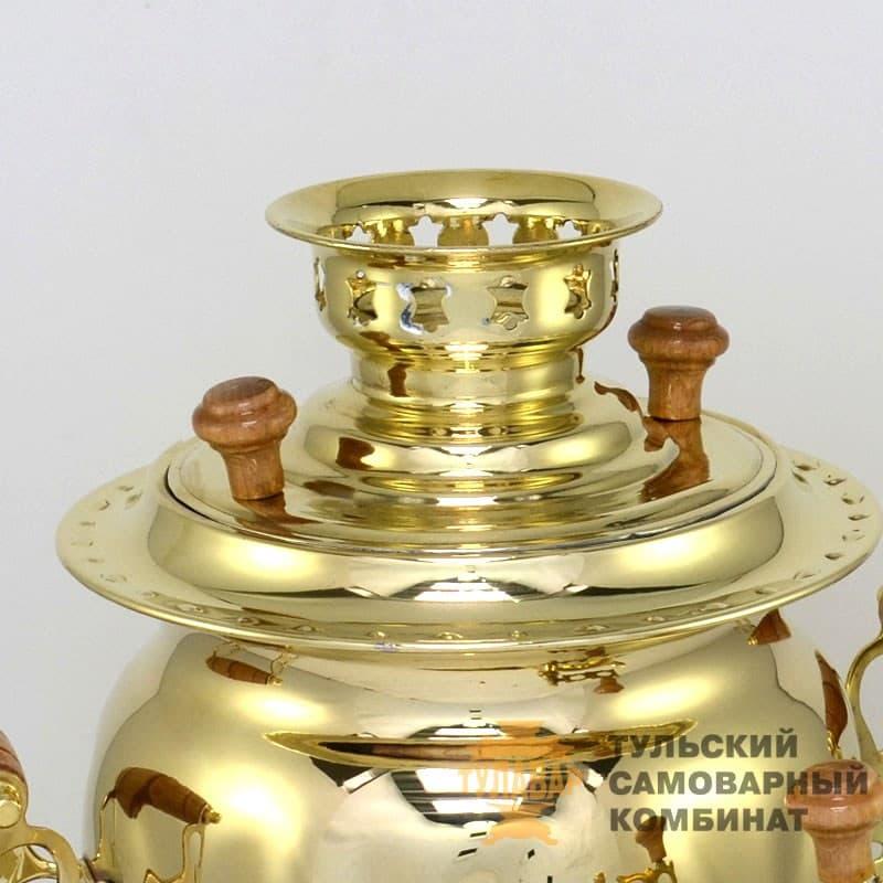 Набор Овал 3 л. электрический, латунь, поднос, чайник, ТСК - фото 9265