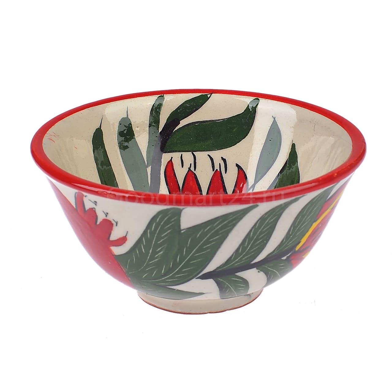 Набор чайный Риштанская Керамика, 9 предметов, Гранат - фото 9485