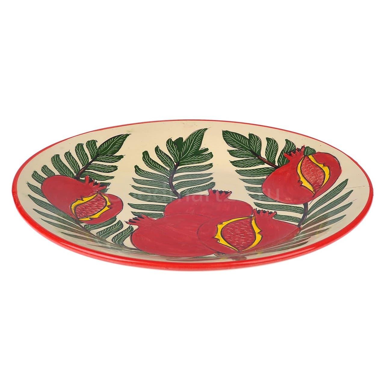 Набор чайный Риштанская Керамика, 9 предметов, Гранат - фото 9486