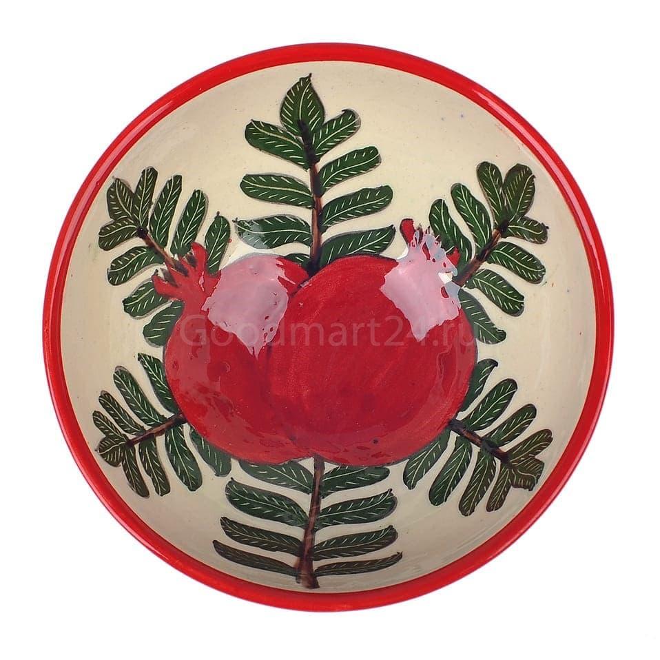 Набор чайный Риштанская Керамика, 9 предметов, Гранат - фото 9488