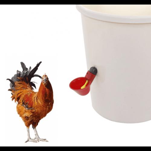 Чашечная поилка для перепелов и кур арт. 3066 - фото 9798